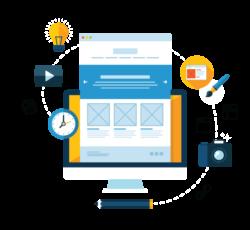 Vytvorenie web stránky a eshopov